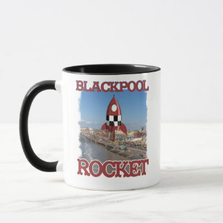 Blackpool Rocket Caneca
