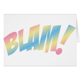 Blam! Cartão Comemorativo