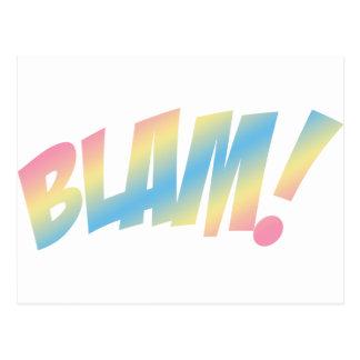 Blam! Cartão Postal
