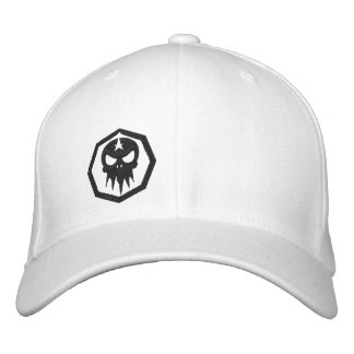 BleedingMedia - chapéu cabido - logotipo novo Boné Bordado