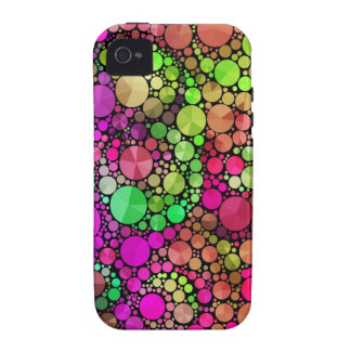 Bling abstrato capinhas para iPhone 4/4S