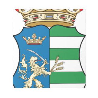 Bloco De Notas Coa_Hungary_County_Békés_ (história)