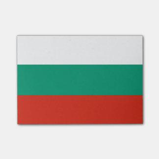 Bloco Post-it Bandeira de notas do Cargo-it® de Bulgária