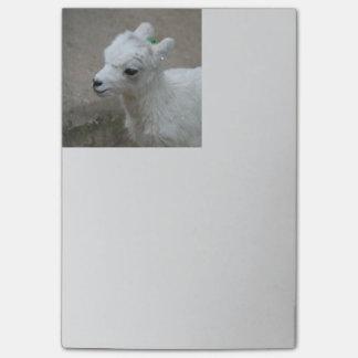 Bloco Post-it cabra pequena