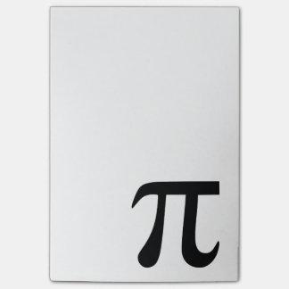 Bloco Post-it Símbolo do Pi