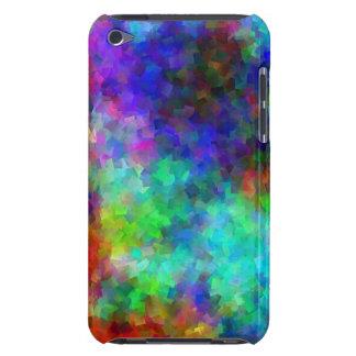 Blocos do arco-íris do ipod touch capa para iPod touch
