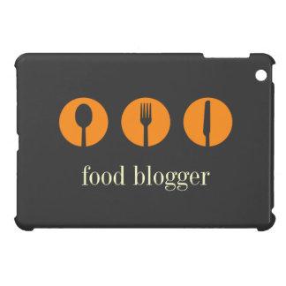 Blogger moderno da comida de colher da faca da for capas iPad mini