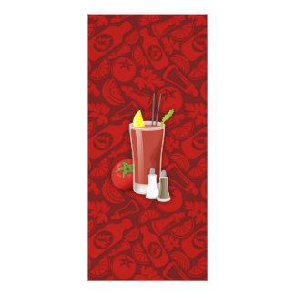 Bloody Mary 10.16 X 22.86cm Panfleto