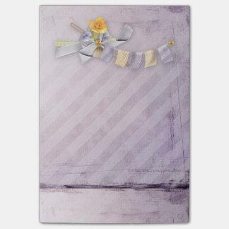 Bloquinho De Notas Escritório - primavera bonito floral