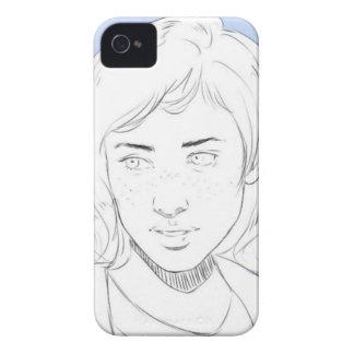 Blue Capa Para iPhone 4 Case-Mate