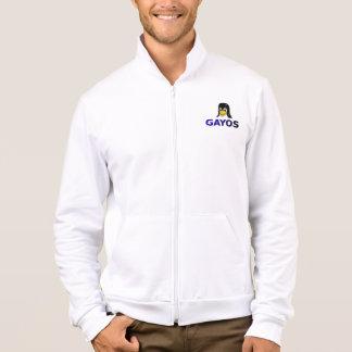 blusão desportivo quente com logótipo e código jaquetas