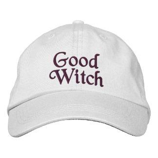 Boa bruxa boné bordado