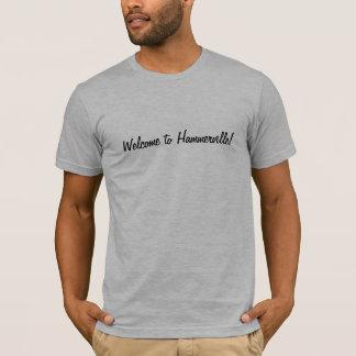 boa vinda à camisa hammervile de t