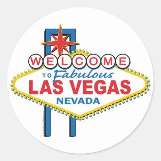 Boa vinda a Las Vegas fabuloso Adesivo