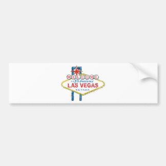 Boa vinda a Las Vegas fabuloso Adesivo Para Carro