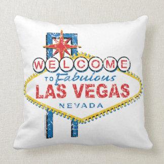 Boa vinda a Las Vegas fabuloso Travesseiro
