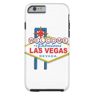 Boa vinda a Las Vegas fabuloso Capa Tough Para iPhone 6