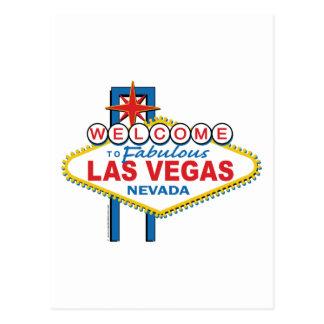 Boa vinda a Las Vegas fabuloso Cartão Postal
