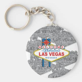 Boa vinda a Las Vegas fabuloso Chaveiro