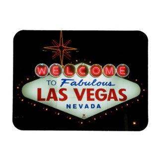 Boa vinda a Las Vegas fabuloso - Nevada Foto Com Ímã Retangular