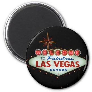 Boa vinda a Las Vegas fabuloso - Nevada Ímã Redondo 5.08cm