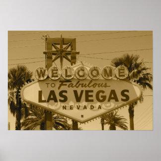 Boa vinda a Las Vegas fabuloso Pôster