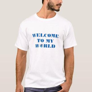 Boa vinda a meu t-shirt do mundo