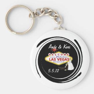 Boa vinda ao nosso Wedding fabuloso de Las Vegas p Chaveiro