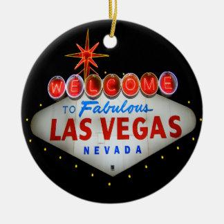 Boa vinda ao ornamento fabuloso de Las Vegas
