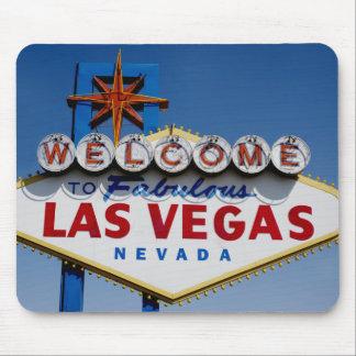 Boa vinda ao sinal histórico fabuloso de Las Vegas Mouse Pad