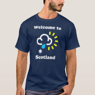 Boa vinda ao t-shirt engraçado do tempo de
