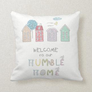 Boa vinda humilde ID372 da casa Almofada