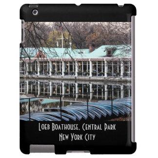 Boathouse do restaurante de Loeb do Central Park Capa Para iPad