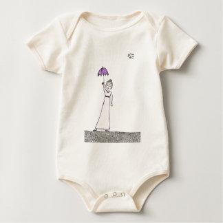 Body Para Bebê A caminhada assustador de Jane Austen