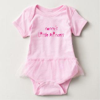 Body Para Bebê A princesa pequena do baby-sitter