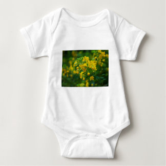 Body Para Bebê Ano flor-Novo da ameixa amarela
