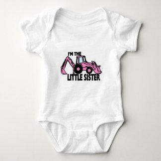 Body Para Bebê Backhoe da irmã mais nova