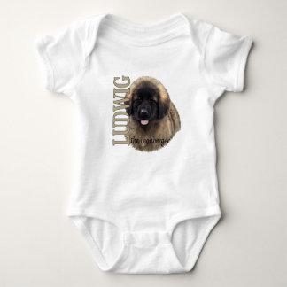 Body Para Bebê Bebê Ludwig o Bodysuit do filhote de cachorro de