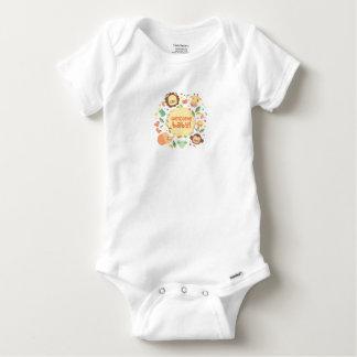 Body Para Bebê Body Algodão Bebé Animal