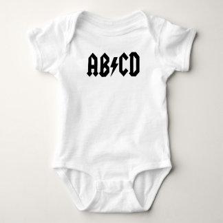 Body Para Bebê Bodysuit de ABCD
