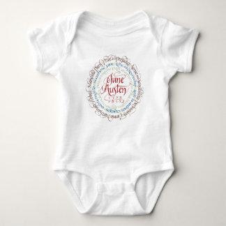 Body Para Bebê Bodysuit do bebê - dramas de período de Jane