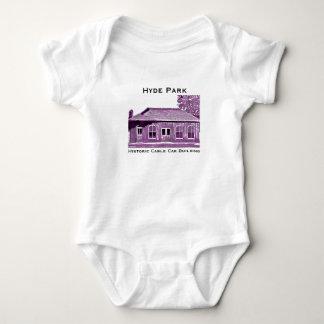 Body Para Bebê Bodysuit histórico da criança do teleférico de