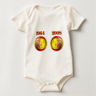 Body Para Bebê Bolas obtidas? Bolas dos campeões da espanha 1964