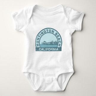 Body Para Bebê Cais de Huntington Beach