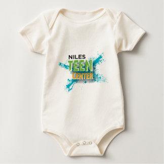 Body Para Bebê Centro adolescente de Niles
