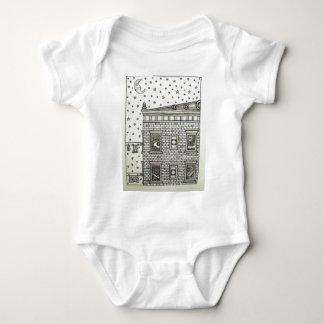 Body Para Bebê Cobertura de construção por Piliero