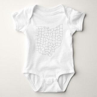 Body Para Bebê Condados de Ohio