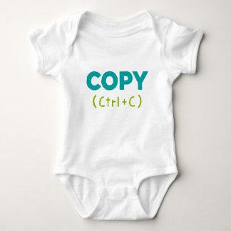 Body Para Bebê COPIE (CTRL+C) Cópia & pasta