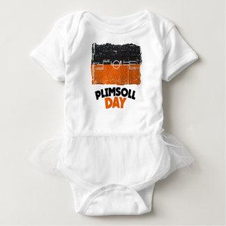 Body Para Bebê Décimo fevereiro - dia de Plimsoll - dia da