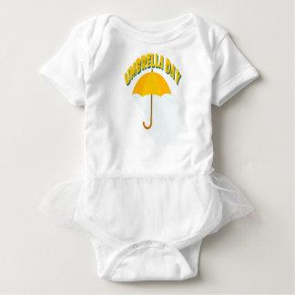 Body Para Bebê Décimo fevereiro - dia do guarda-chuva - dia da